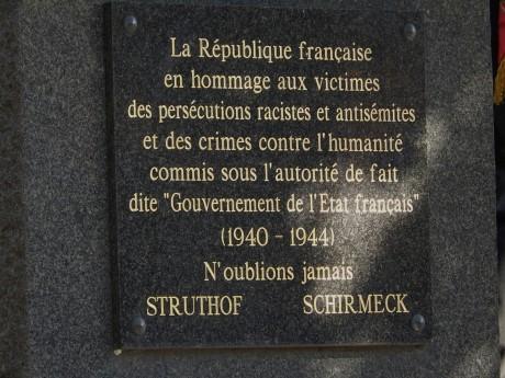 Strasbourg: commémoration de la rafle du Vel d'Hiv des 16-17 juillet 1942