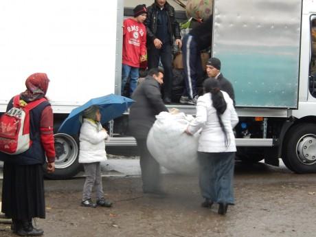 Le campement rom Saint-Gall évacué ce matin et rasé dans l'après-midi