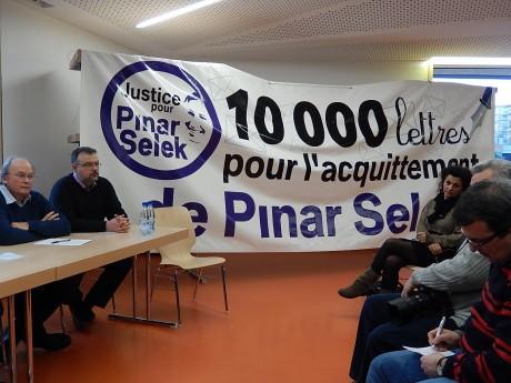 Conférence de presse de Pinar Selek à Strasbourg
