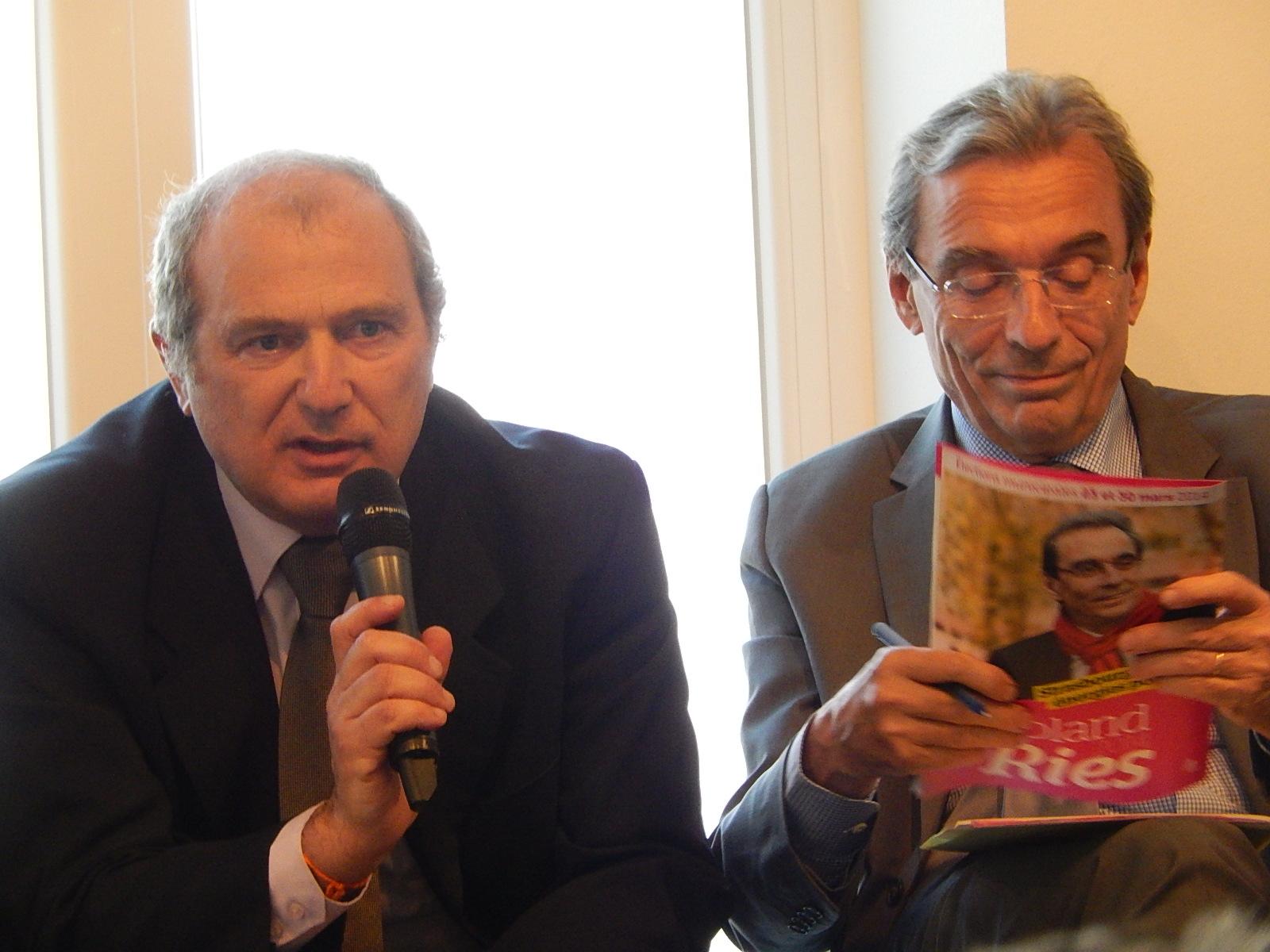 Municipales 2014 Strasbourg: débat têtes de listes