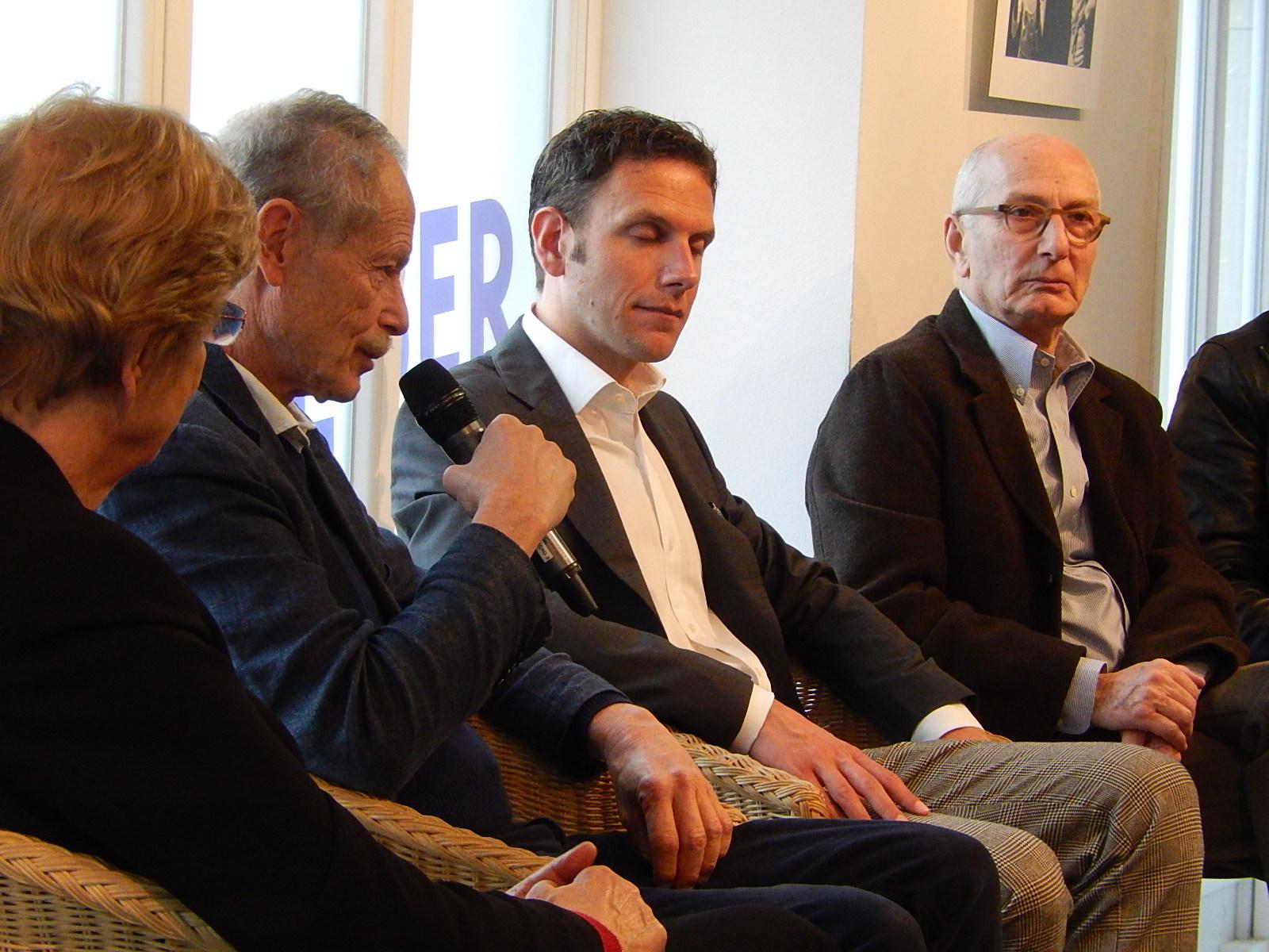 Erri De Luca, Marcel Cohen, Danièle Valin et Philippe Abry