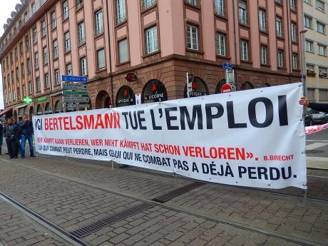 1er mai 2014 à Strasbourg contre l'austérité