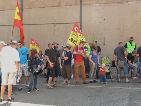 Ag grévistes cheminots Strasbourg