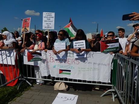 Solidarité avec Gaza et la Palestine au Parlement européen à Strasbourg