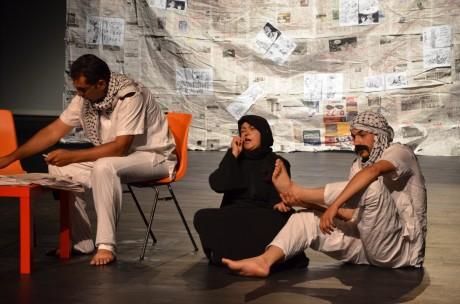 Handala, par le théâtre Al Rowwad, au Maillon-Strasbourg-Hautepierre