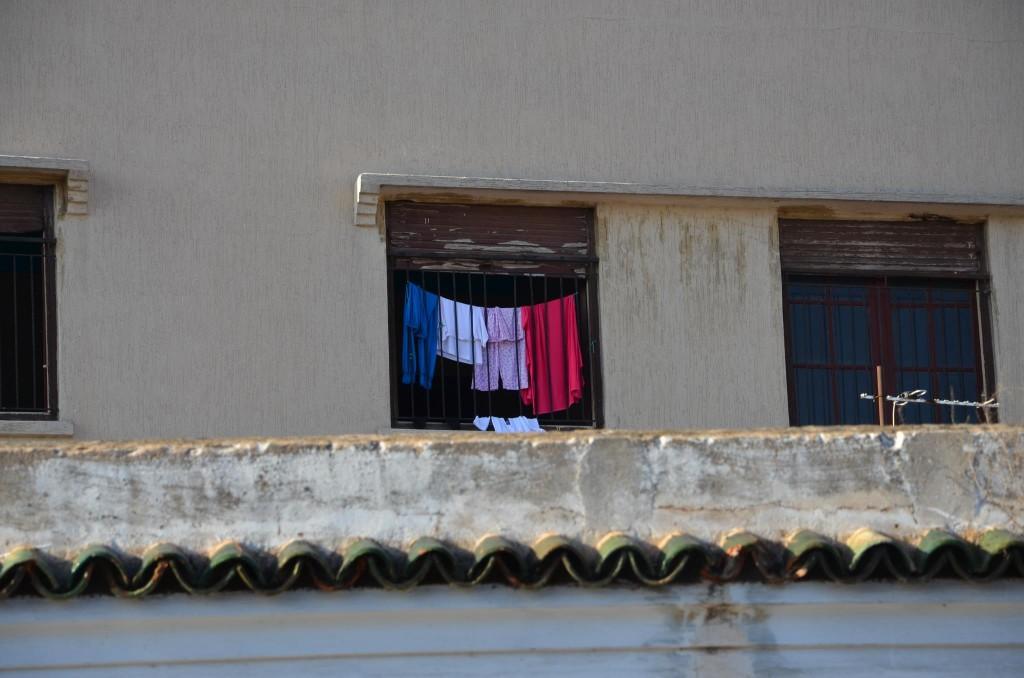 Le drapeau français à Rabat…