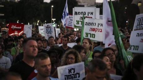 Tel Aviv : des milliers de manifestants contre l'incitation à la violence
