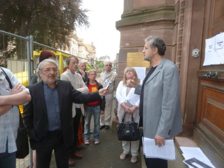 1er décembre 2012 Mémoire des génocides à Strasbourg 16h Institut d'Anatomie