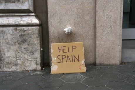 Installations dans les rues de Barcelone