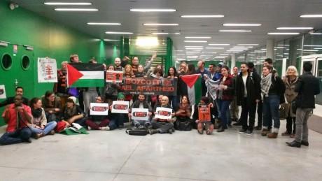 Succès de la conférence Palestine à Paris VIII