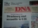 Un an après l'Otan à Strasbourg, Roland Ries annonce le G 20!