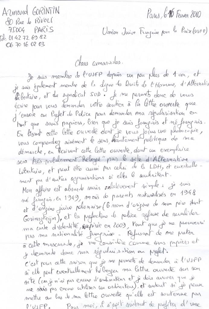Juif né français en 1949 de parents polonais, naturalisés français en 1948, tenu de prouver sa nationalité française!