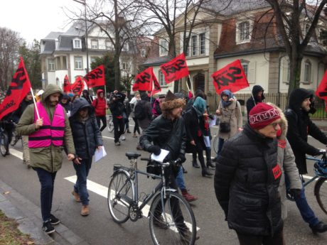 Contre la réforme du bac et la sélection à l'Université, manifestation à Strasbourg