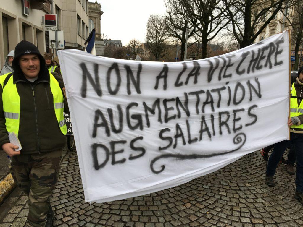 Manifestation intersyndicale  Strasbourg