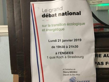 """""""Grand débat"""" organisé par Thierry Michels, député LREM de Strasbourg"""