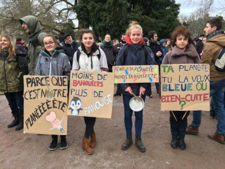 Marche pour le climat à Strasbourg