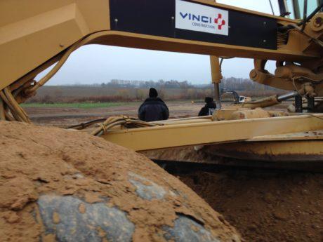 Mercredi, j'ai Vinci:  3 chantiers occupés par plusieurs dizaines d'anti-#GCO