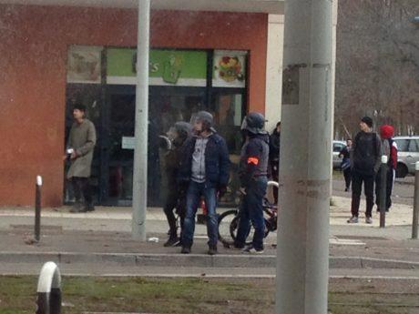 Chasse aux lycéens de Rudloff aux Poteries à Strasbourg