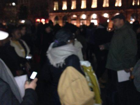 Manifestation à Strasbourg contre l'esclavage en Libye