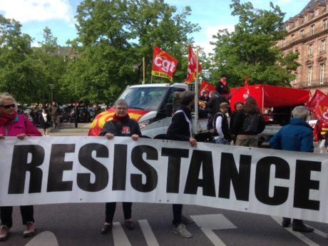 1er mai à Strasbourg