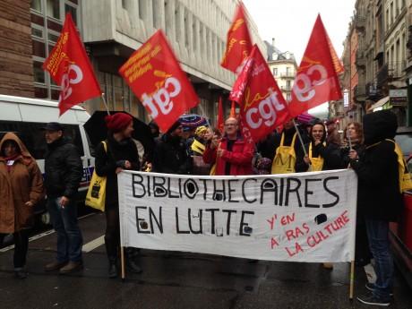 Médiathèques en grève à Strasbourg