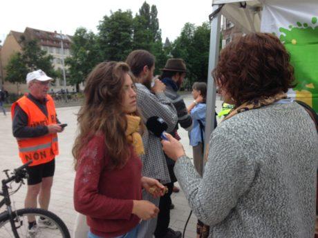 Jugement au procès des anti-GCO au TGI de Strasbourg: deux mois avec sursis!