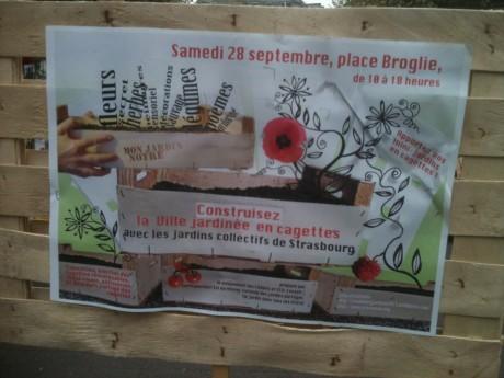 Jardins-cagettes à Strasbourg