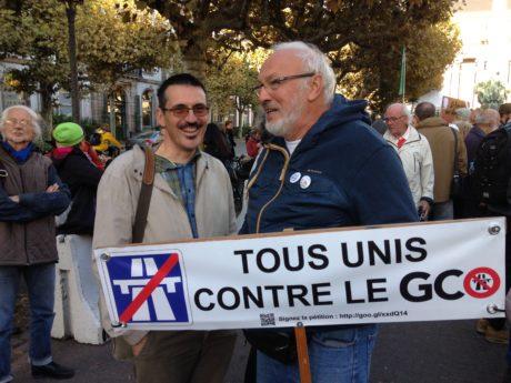 Référé négatif  pour Alsace Nature contre le GCO et manif sauvage contre les lobbies, le système représentatif et le préfet