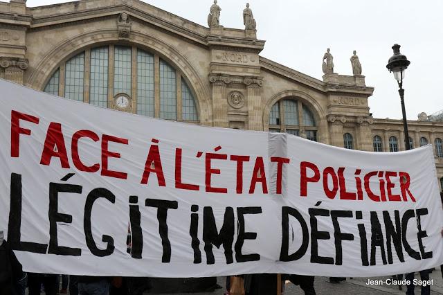 Paris contre la guerre, le racisme, le colonialisme, contre les violences policières, 19 mars 2016