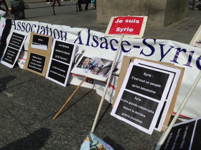 Alsace-Syrie: sauver Alep et les Syriens