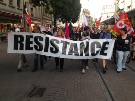 Strasbourg: Une manifestation? Quelle manifestation?