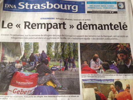 Invisibiliser la misère à Strasbourg…