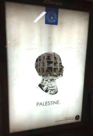 Le Crif fait censurer une campagne d'affichage pour la Palestine