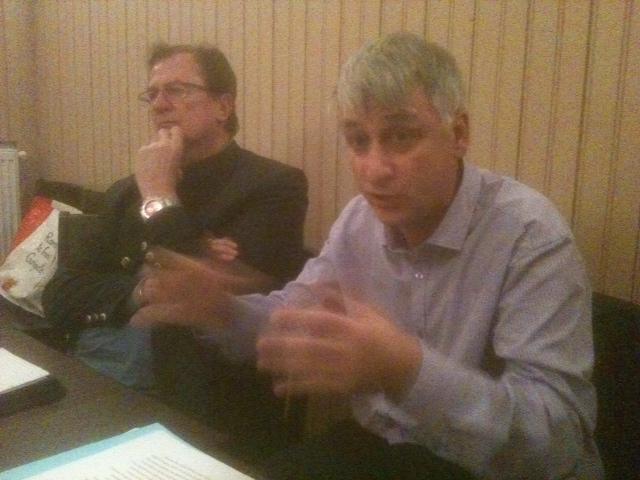 """Jacques Fernique a présenté et défendu la """"collectivité territoriale d'Alsace au stammtish de Initiative Citoyenne Alsacienne"""