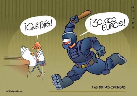 Brisons le silence sur ce qui se passe en Espagne !