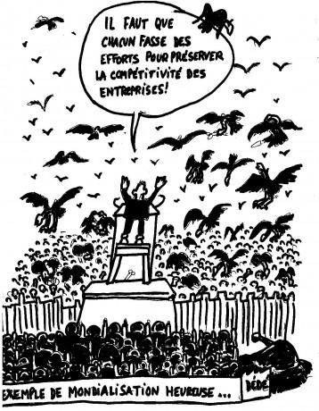 Le coup de gueule du dessinateur Dédé après la répression à Mulhouse
