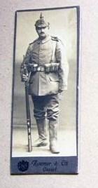 Alsacien soldat allemand du second Reich