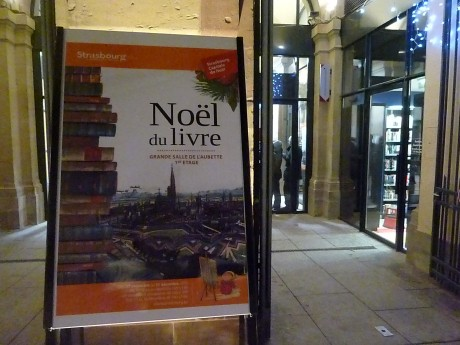 Marché aux livres nomade à Strasbourg