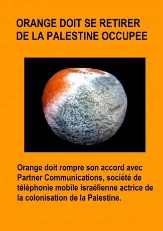 Orange complice de la colonisation israélienne