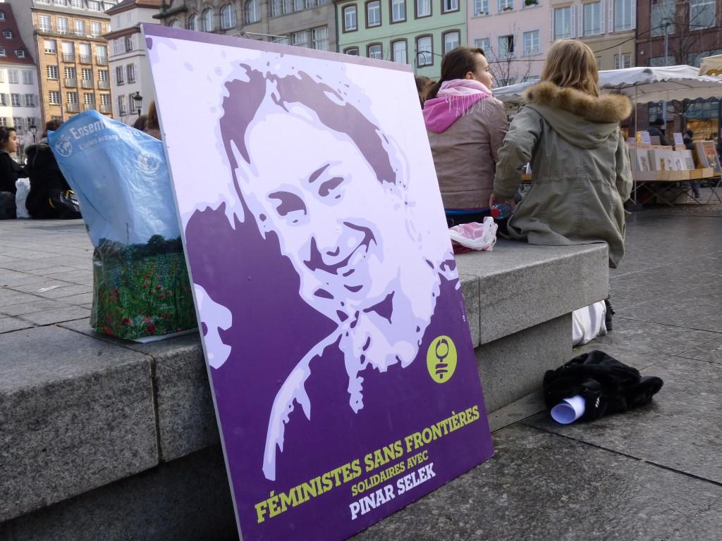 Pinar Selek Solidarité Strasbourg