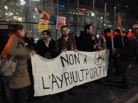 Strasbourg: contre la répression à Notre-Dame-des-Landes