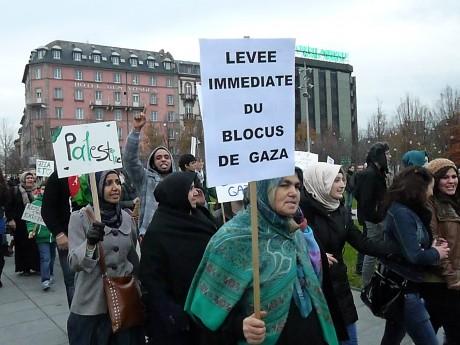 Gaza on est avec toi feuille2choyphoto strasbourg