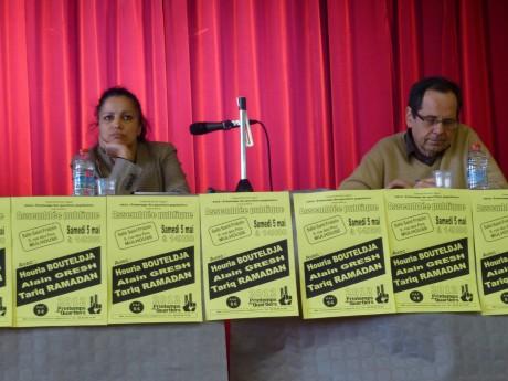 Printemps des quartiers à Mulhouse avec Houria Bouteldja, Alain Gresh et Tariq Ramadan