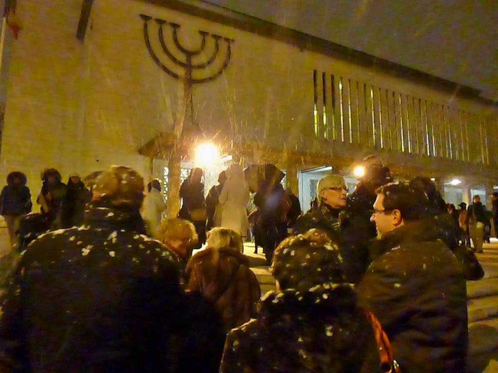Hanoucah à Strasbourg: les lumières de la ville