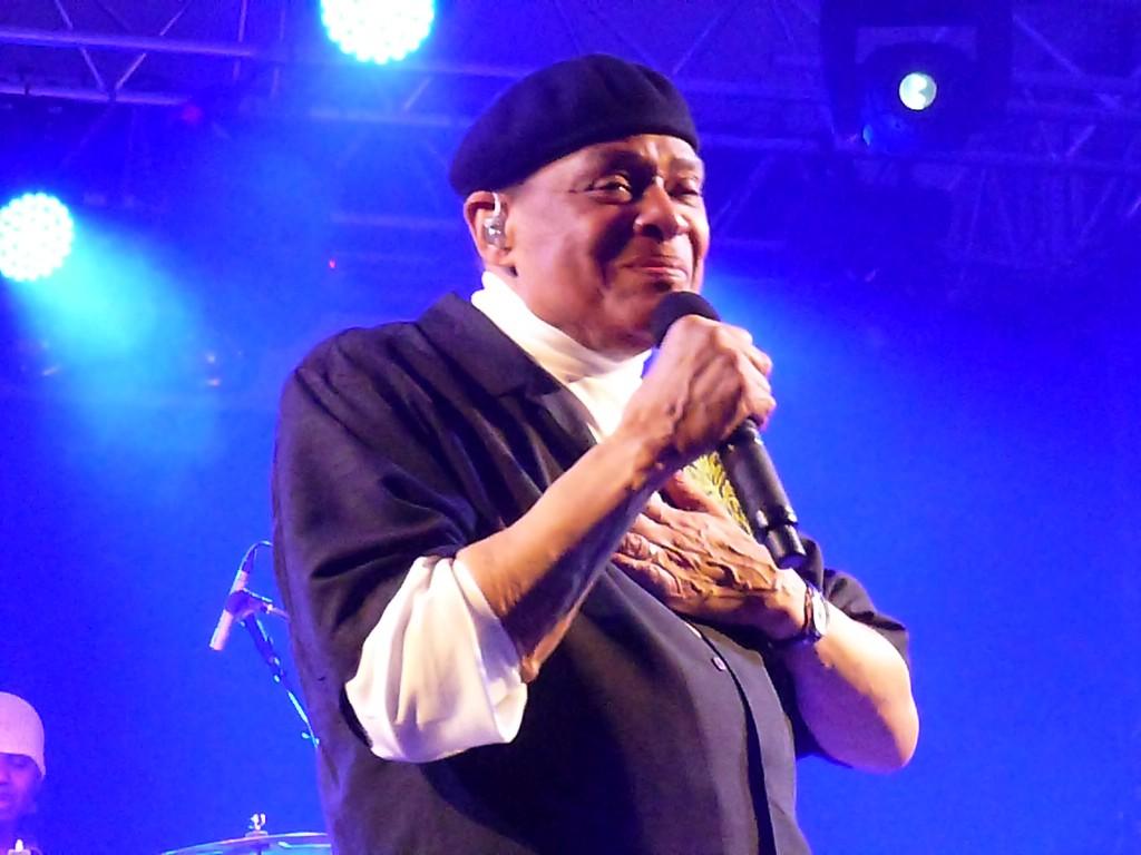 Al Jarreau à Wolfi Jazz, un régal. Come back!