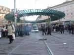 Retraites: manifestations-escarmouches à Strasbourg