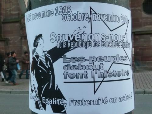 Novembre à Strasbourg: de 1918 à 1944