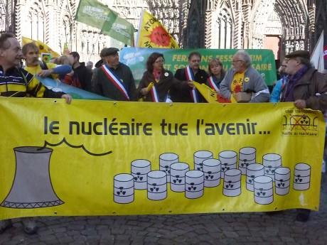 Indignés et antinucléaires manifestent à Strasbourg