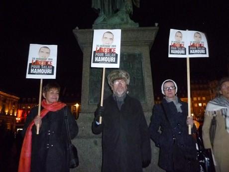Strasbourg: Libérez Salah Hamouri!