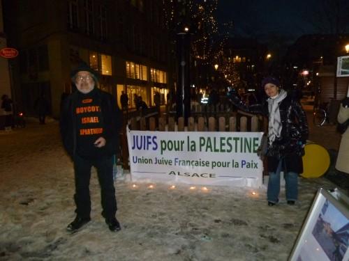 Gaza/Strasbourg: on n'oublie pas!